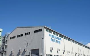 2014年2月の雪害で工場建屋が損壊した日光事業所