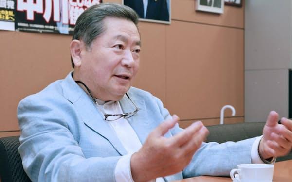 中川秀直元自民党幹事長