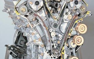 自動車エンジン向けのタイミングチェーンドライブシステムは世界シェア3割強の戦略製品