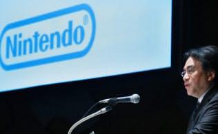 岩田氏は「任天堂の顔」だった(2014年1月の「経営方針説明会」で、東京都千代田区)