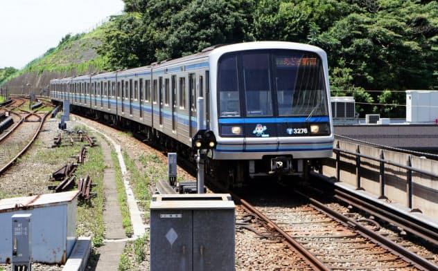 横浜市営地下鉄ブルーラインの延伸ルートが決まった