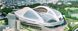 旧計画=日本スポーツ振興センター提供・共同