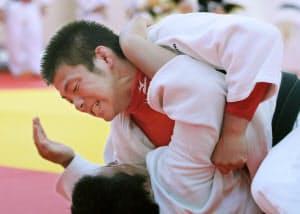 「五輪柔道4連覇」の夢に向かって練習に励む阿部