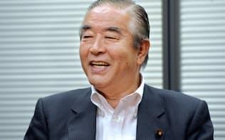 細川政権で新党さきがけの代表幹事を務めた園田氏