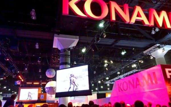 コナミは家庭用ゲームからソーシャルゲームへ急速にシフトしている