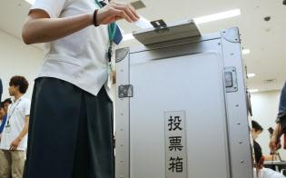 高校生への民主主義の基礎教育が欠かせない(高校生の模擬投票)
