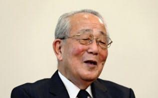 「日本は専守防衛に徹するべきだ」と語る稲盛氏