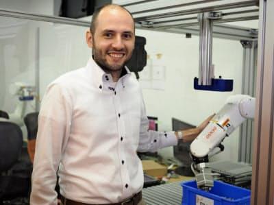 MUJINのCTO(最高技術責任者)兼共同創業者のデアンコウ・ロセン氏