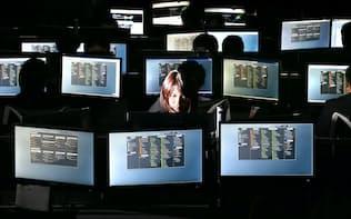 国際訴訟支援システムを開発するUBICの行動情報科学研究所(東京都港区)