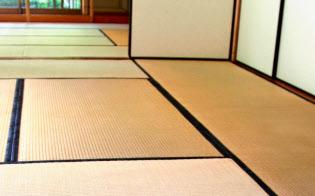 日本で消費する畳表の8割が中国産