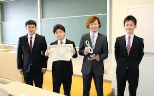 第15回学生対抗円ダービー第1位 西南学院大学の山崎亮太さんのチーム