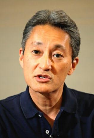 「挑戦の中からソニーらしい新しいビジネスが生まれる」と話す平井一夫社長