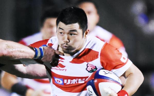 スーパーリーグのハイランダーズ(NZ)で田中は初優勝を経験した