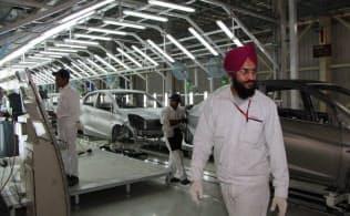 インドでの大ヒット車「アメイズ」を生産する新工場(西部ラジャスタン州)