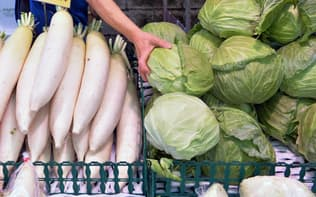 軽減税率の対象品目は生鮮食品などが軸になる