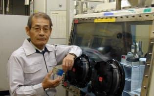 リチウムイオン電池の実用化を先導した吉野彰氏