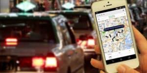 配車サービス「ウーバー」を利用する人が急増している