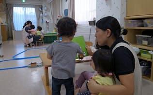 ママ社員の活躍には病児保育の充実が欠かせない(東京都世田谷区の病児保育所ハグルーム)