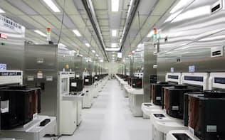 マイクロン・テクノロジーの広島工場