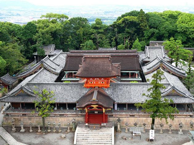 石清水八幡宮本社(京都府八幡市)=文化庁提供・共同