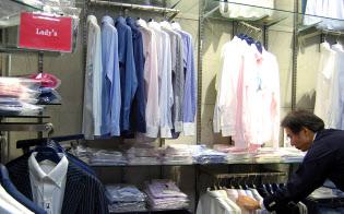 丸和繊維工業のブランド「インダスタイル トウキョウ」は15年12月期に5割増収の見通し(東京都墨田区の直営店)