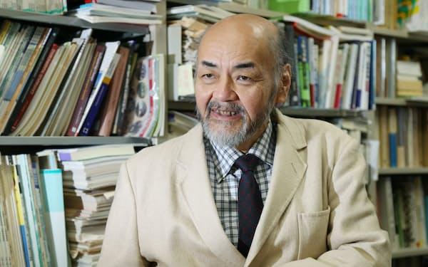 「道州制のあり方研究会」の座長を務めた新川同志社大学大学院教授
