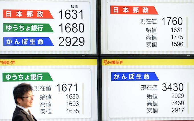 株価 掲示板 日本郵政