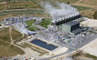 富士電機がプラントを手掛けたニュージーランドのナ・アワ・プルワ地熱発電所