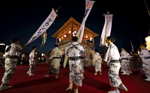 日本遺産効果で今年8月のデカンショ祭の人出は昨年比3割増(兵庫県篠山市)
