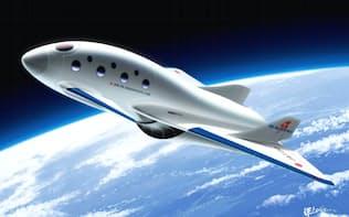 PDエアロスペースは何度も往復できる機体づくりでコストを抑える(イメージ)