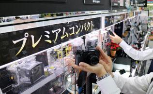 高性能を前面に打ち出した売り場で消費者の関心を呼び込む(東京・千代田のヨドバシカメラマルチメディアAkiba)