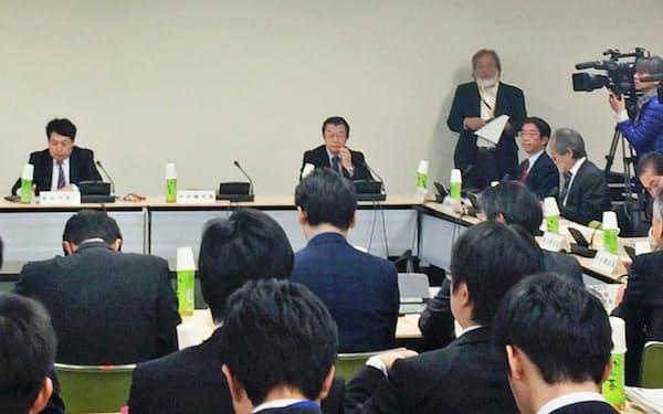 民泊の有識者会議は来秋に報告書を取りまとめる(東京・霞が関の厚労省)