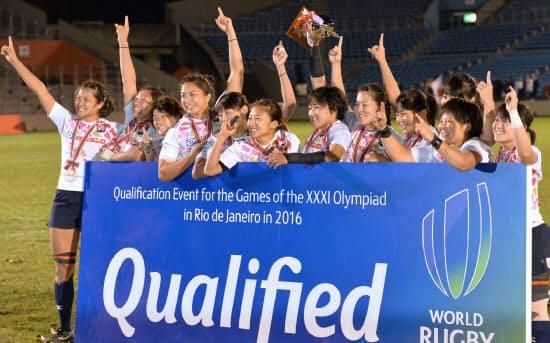 五輪新種目の7人制ラグビー。日本は男女とも出場を決めた