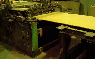 型枠用合板の生産を増やすメーカーが多い(林ベニヤ産業の石川県七尾市の工場)