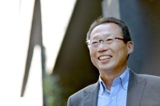 岡田さんはスタジアムを「スポーツ」や「健康」をテーマに交流人口を増やす拠点にしたらどうかと考える