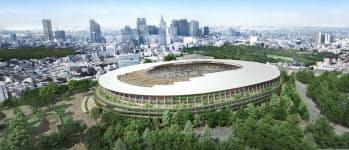 A案外観=日本スポーツ振興センター提供