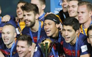 今季も欧州CLの優勝候補の筆頭はバルセロナといわざるをえない=共同