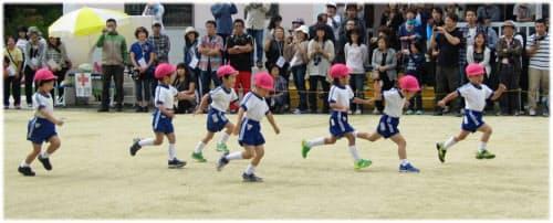 子どもたちには「楽しさ」「遊び」の要素を取り入れて走らせたい