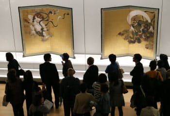 30万人を超える来場者があった「琳派 京(みやこ)を彩る」(京都市の京都国立博物館)