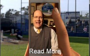 Snapchatはモバイル端末で撮影した写真や動画を手軽に友達に送信できるアプリケーション。メッセージを受け取った相手が閲覧すると数秒後に消える