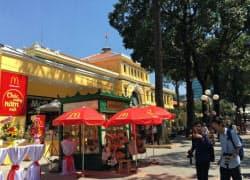 ホーチミンに開業したマクドナルドの新店舗