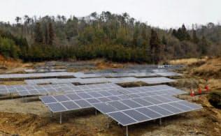 競売案件とほぼ同規模の太陽光発電所