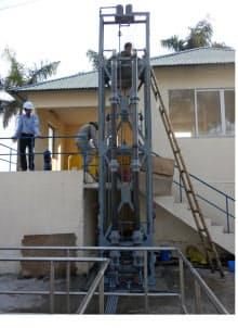 ベトナム6都市の浄水場にミニプラントを設置し、北九州方式の高度浄水処理が有効か1年間ずつ検証する=北九州市提供
