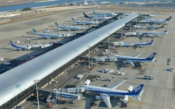 関西国際空港(大阪府泉佐野市)