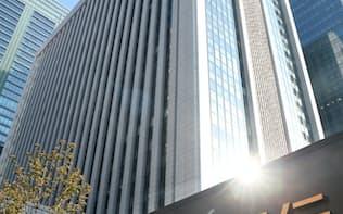 三菱UFJは中国で融資残高2兆円を目指す(東京・丸の内)