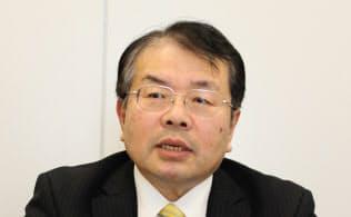 鶴丸哲哉社長は「半導体の進化とともに、災害対策も進化させなけれなならない」との決意を示す