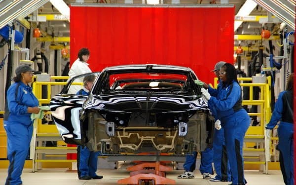 米ミシガン州にある米クライスラーの工場
