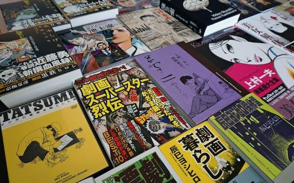 劇画に関連する出版物が増えている