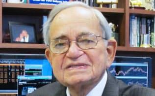 Leo Melamed(レオ・メラメド) 1932年ポーランド生まれのユダヤ人。40年に当時リトアニア領事代理の故杉原千畝氏が発給した「命のビザ」で両親とともに日本に渡り生き延びた。現在、シカゴ在住。