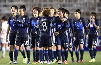 サッカー女子五輪最終予選の日本は2勝1分け2敗の3位で終わり、4大会連続の五輪出場を逃した=共同